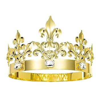 Amazoncom Dczerong Adult Men Women Queen Crown King Crown