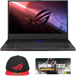 "ASUS ROG Zephyrus S17 GX701LWS-XS76 Enthusiast (i7-10750H, 40GB RAM, 2TB NVMe SSD, RTX 2070 Super 8GB, 17.3"" FHD 300Hz 3ms, Windows 10 Pro) Gaming Notebook"