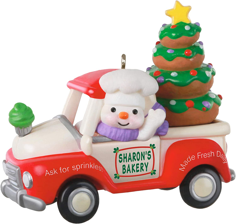 Hallmark Keepsake Christmas Ornament 2020 Year Dated Holiday Parade Bakery Truck Home Kitchen