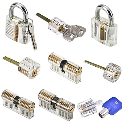 bb57adce39cf MICG A-bloy Cutaway Lock Transparent Training Skill Professional Visible  Practice Padlocks Lock Pick for Locksmith