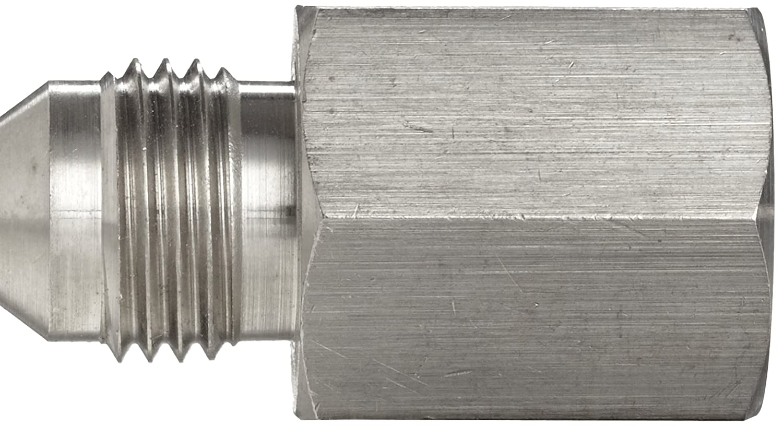 1//2 Tube OD x 1//2-14 NPTF Male Stainless Steel JIC Tube Fitting Brennan 2404-08-08-SS 08MJ-08MP Adapter