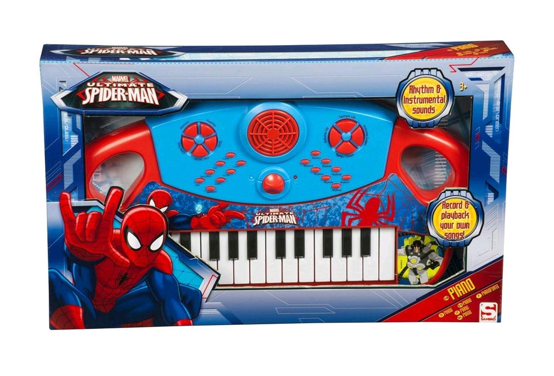 Sambro Spiderman Juguete Musical Color Azul/Rojo Talla Única SPMU-3076: Spider-man: Amazon.es: Juguetes y juegos