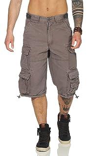 Jet Lag Cargo Herren Shorts 007 B Cargoshort schwarz Männer Cargohose Mens