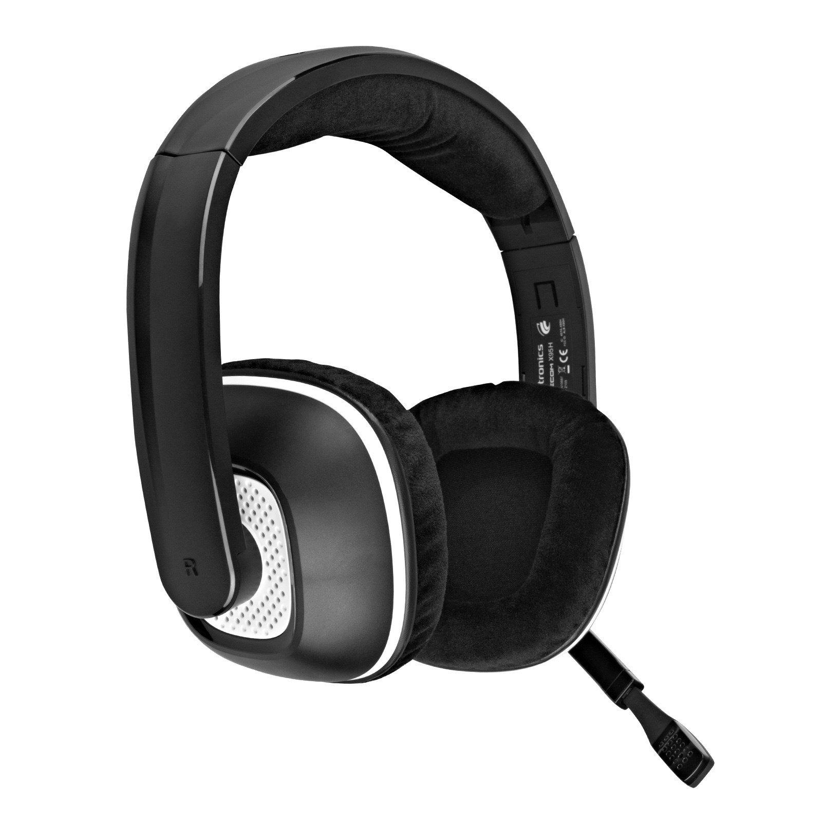 Plantronics Gamecom X95 Gaming Headset for Xbox 360 - Black (Renewed) by Plantronics