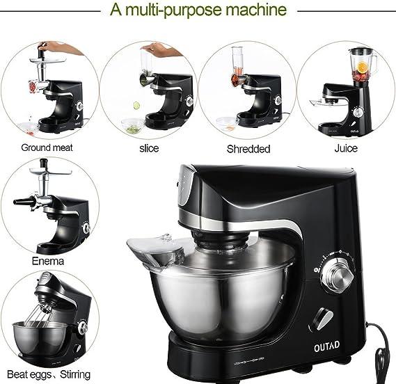Robot de cocina profesional con accesorios, Robot de cocina ...