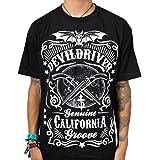 Devildriver Sawed Off Men's Black T-Shirt