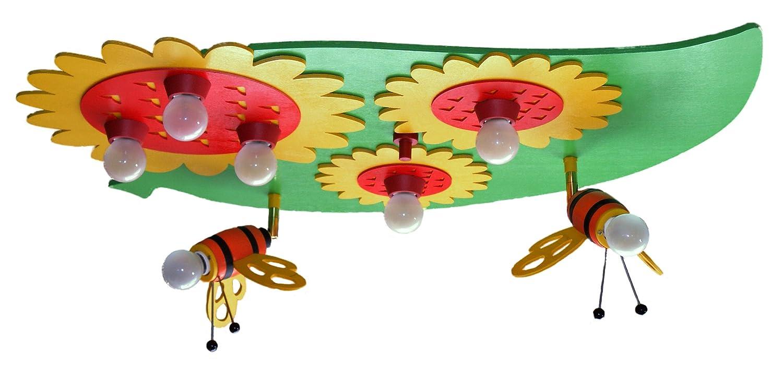 Deckenleuchte Blatt Hummel, 7-flg Elobra 122792