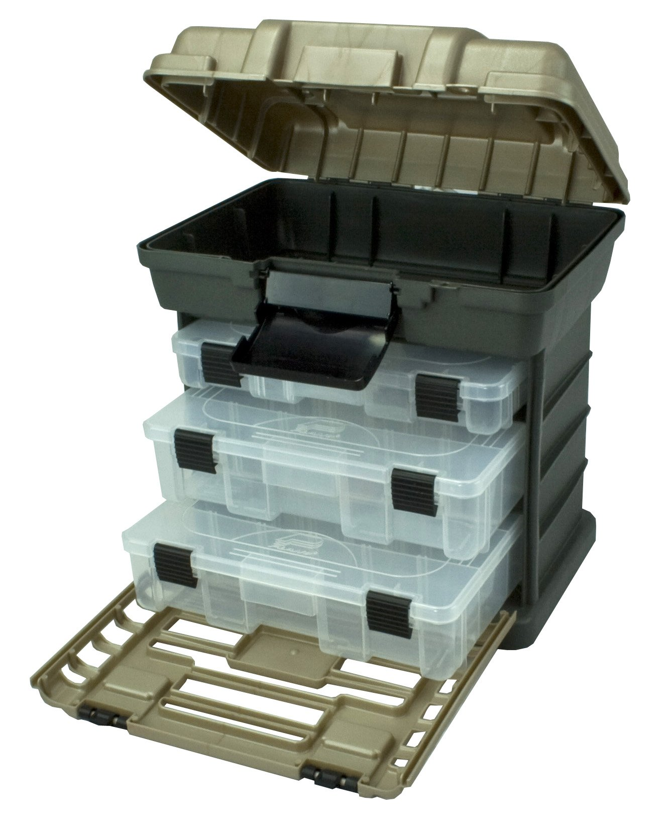 Plano Molding 1363 Stow N Go Toolbox, Graphite Gray and Sandstone by Plano Molding