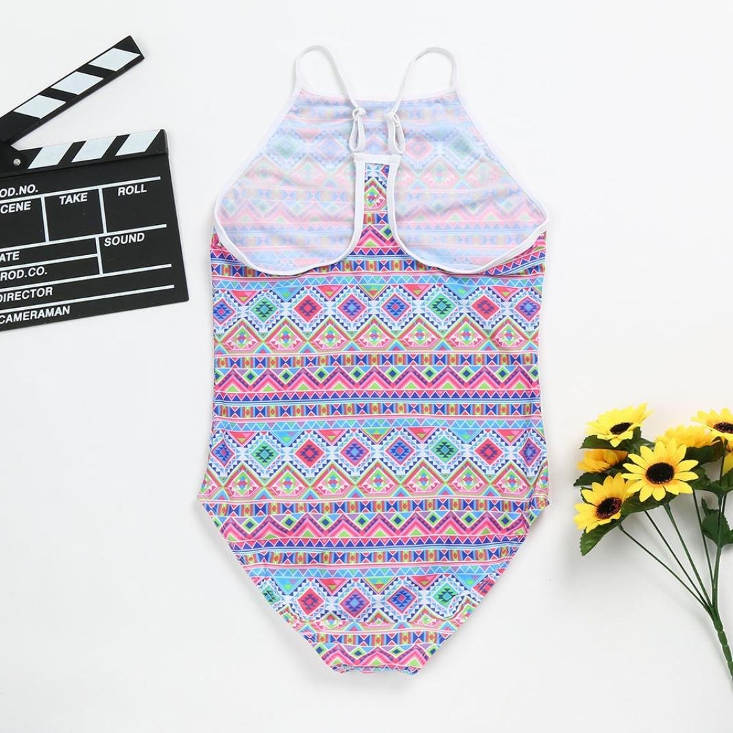 Summer Children Kid Toddler Girls Print One Piece Swimming Suit 1-6T Moonker Hot Sale Baby Swimsuit