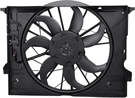 Brushless Motor Cooling Fan Assembly for Mercedes W211 E240 E320 C219 CLS350 500