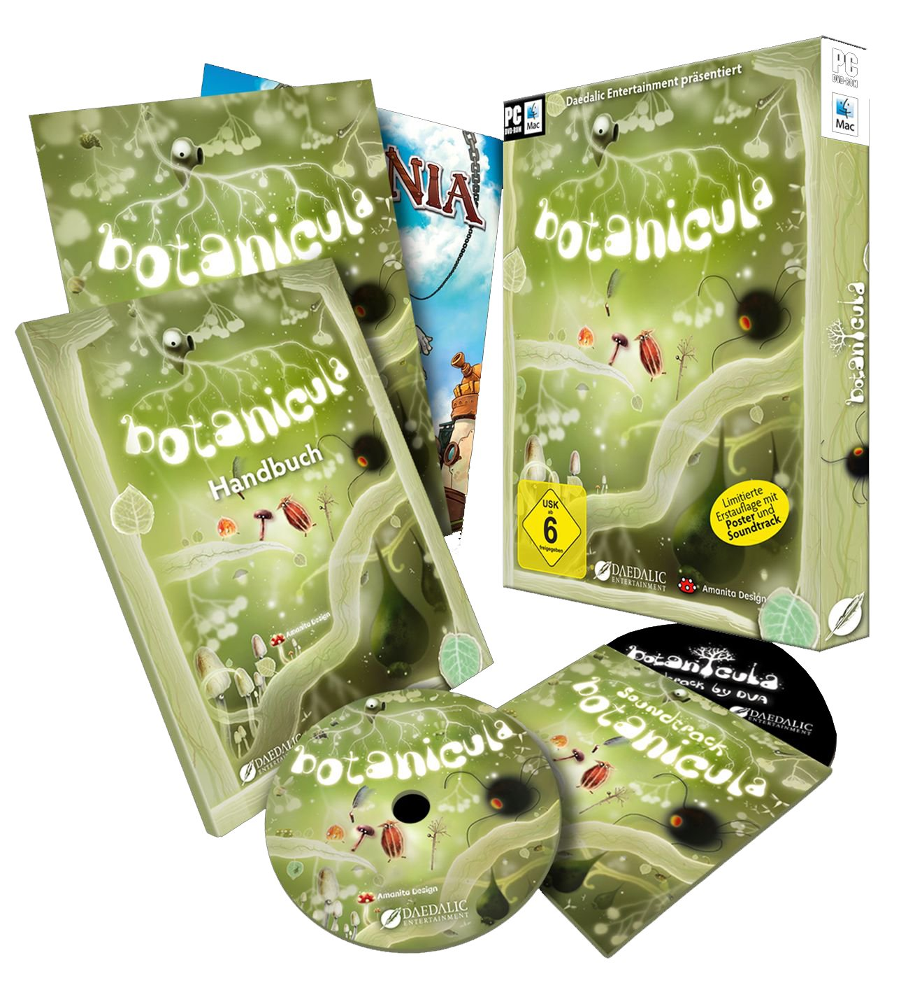 Botanicula (Limitierte Erstauflage inklusive Poster, Soundtrack und ausführlichem Handbuch) - [PC/Mac] product image