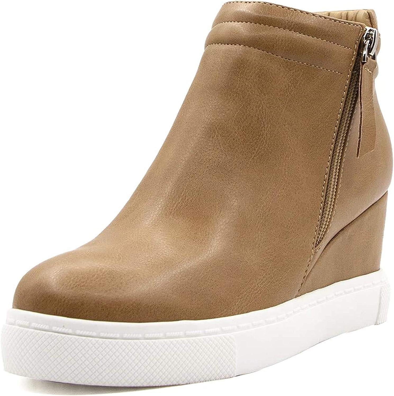 softome Women's Wedge Sneakers Hidden