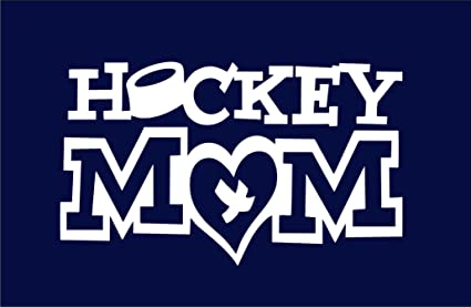 281ed0fb134 Image Unavailable. Image not available for. Color  SoCoolDesign Hockey Mom Window  Vinyl Decal Sticker ...