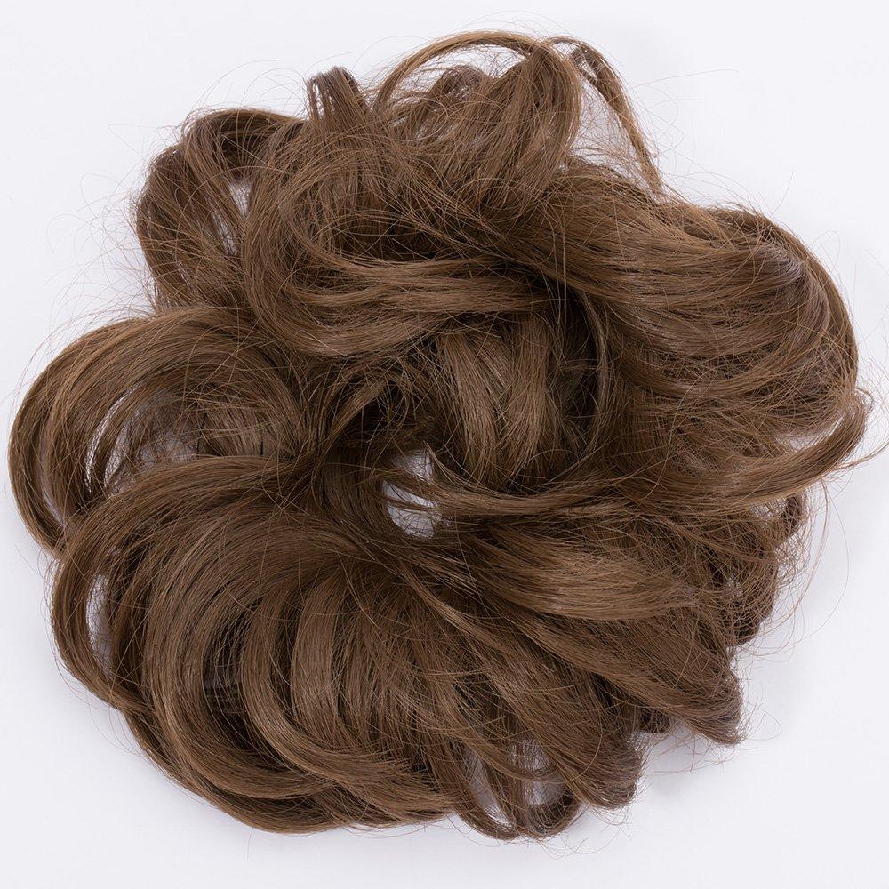 Haargummi Haarteil Dutt Synthetik Haare Für Haarknoten Gummiband