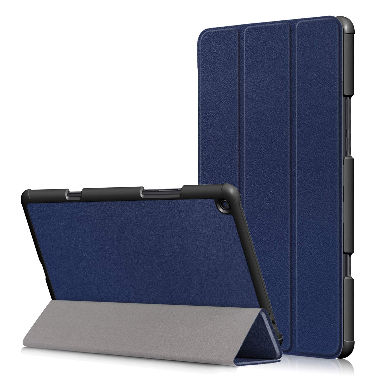 TenYll Xiaomi Mi Pad 4 Plus Funda, Chasis portátil [Ultra-Delgado] [Ultra-Ligero] Smart Tablet PC Holder para Xiaomi Mi Pad 4 Plus Tableta -Azul