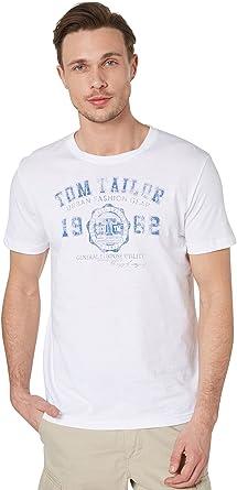 TALLA 52-54. Tom Tailor Camiseta para Hombre