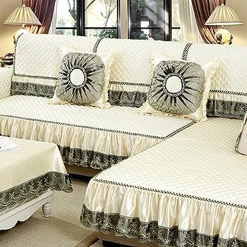 Modern Non Slip Sofa Cushion All Inclusive Living Room Four Seasons  European Style Sofa Coverings ( Color : C , Size : 90*160cm ):  Amazon.co.uk: Kitchen U0026 ...