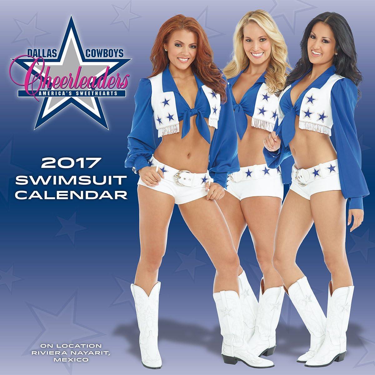 Turner Licensing 2017 Dallas Cowboys Cheerleaders Wall Calendar, 15
