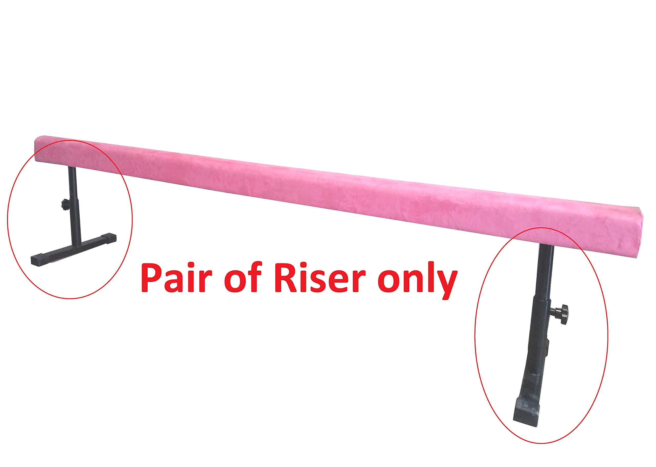 Gymnastics Balance Beam (Pair of Riser Only)