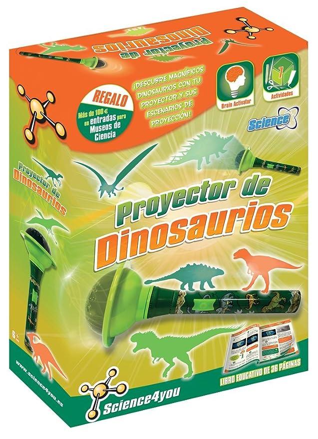 Science4you - Proyector de Dinosaurios - Juguete científico y ...