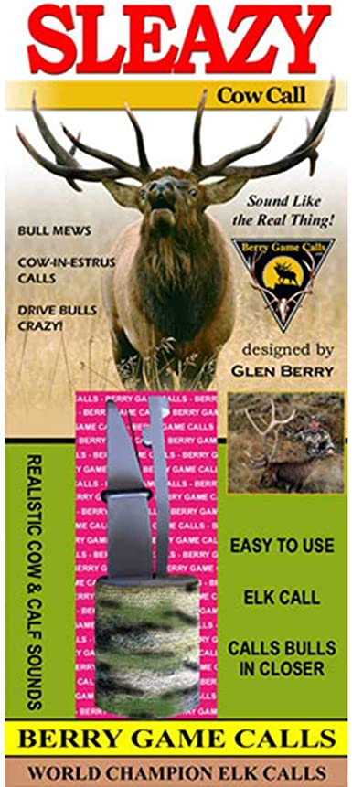 Amazon Com Sleazy Cow Elk Call Clothing Its hard to master a sound you seldom hear, like the sounds of a cow elk. sleazy cow elk call