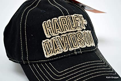 Harley Davidson Men s Old Fashioned Frayed H de D Gorra de ...
