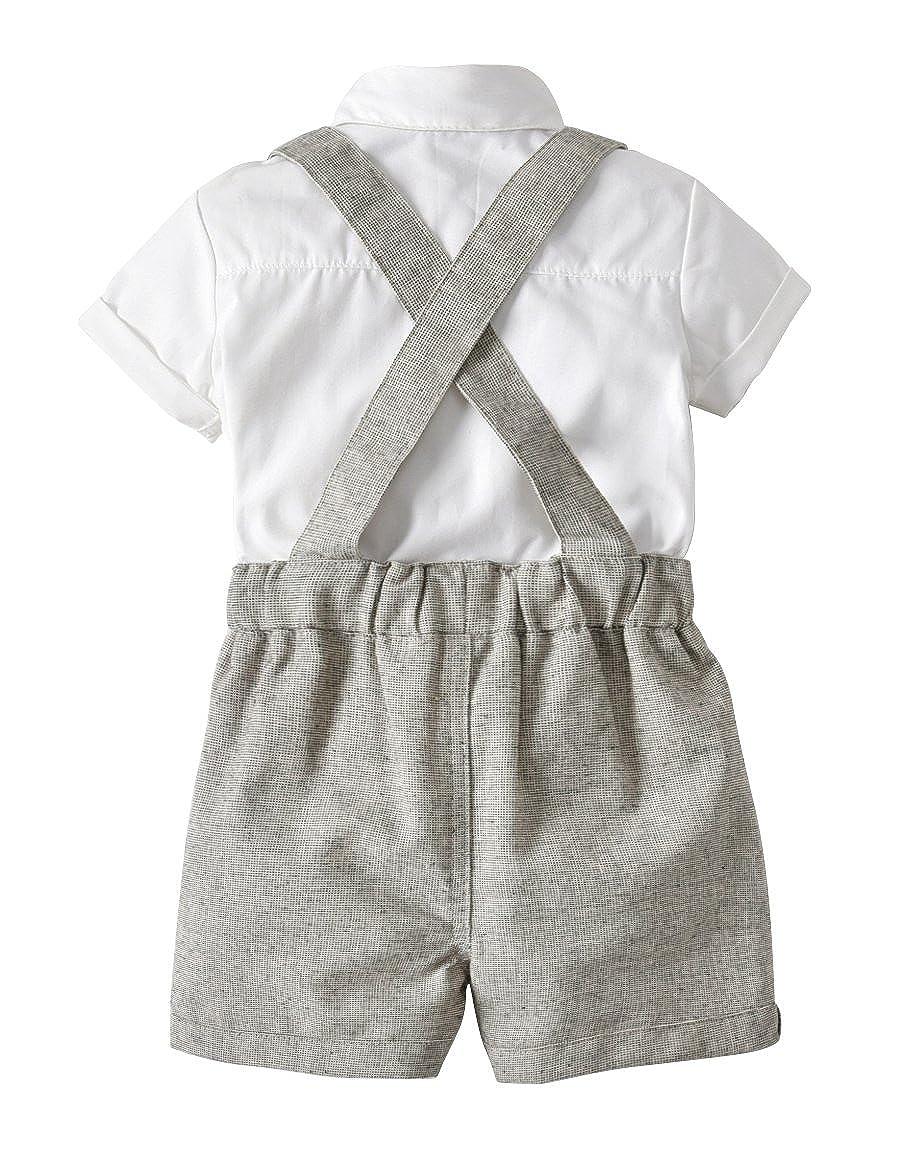 Amazon.com: Conjunto de trajes de verano para bebé y niño ...