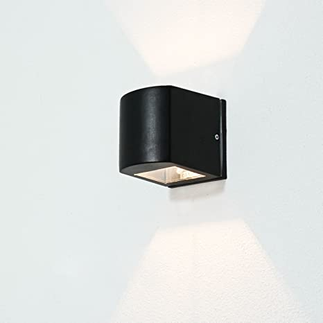 Lámpara semicircular de techo Alu IP54 G9 Vidrio Moderno ...