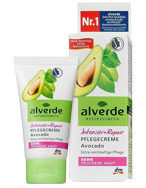 alverde – crema de cuidado Intensive + Repair – piel muy seca – procurador Bio –