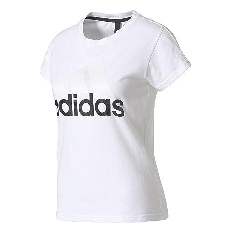 adidas ESS Li SLI tee Camiseta, Mujer, (Blanco), 2XL
