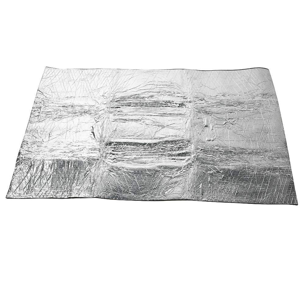 Fydun Automotive Insulation Mat 6040inch 10mm Car Sound Proofing Foam Deadening Vehicle Heat Insulation Mat Waterproof Foam Cotton Aluminium Foil Insulation Foam