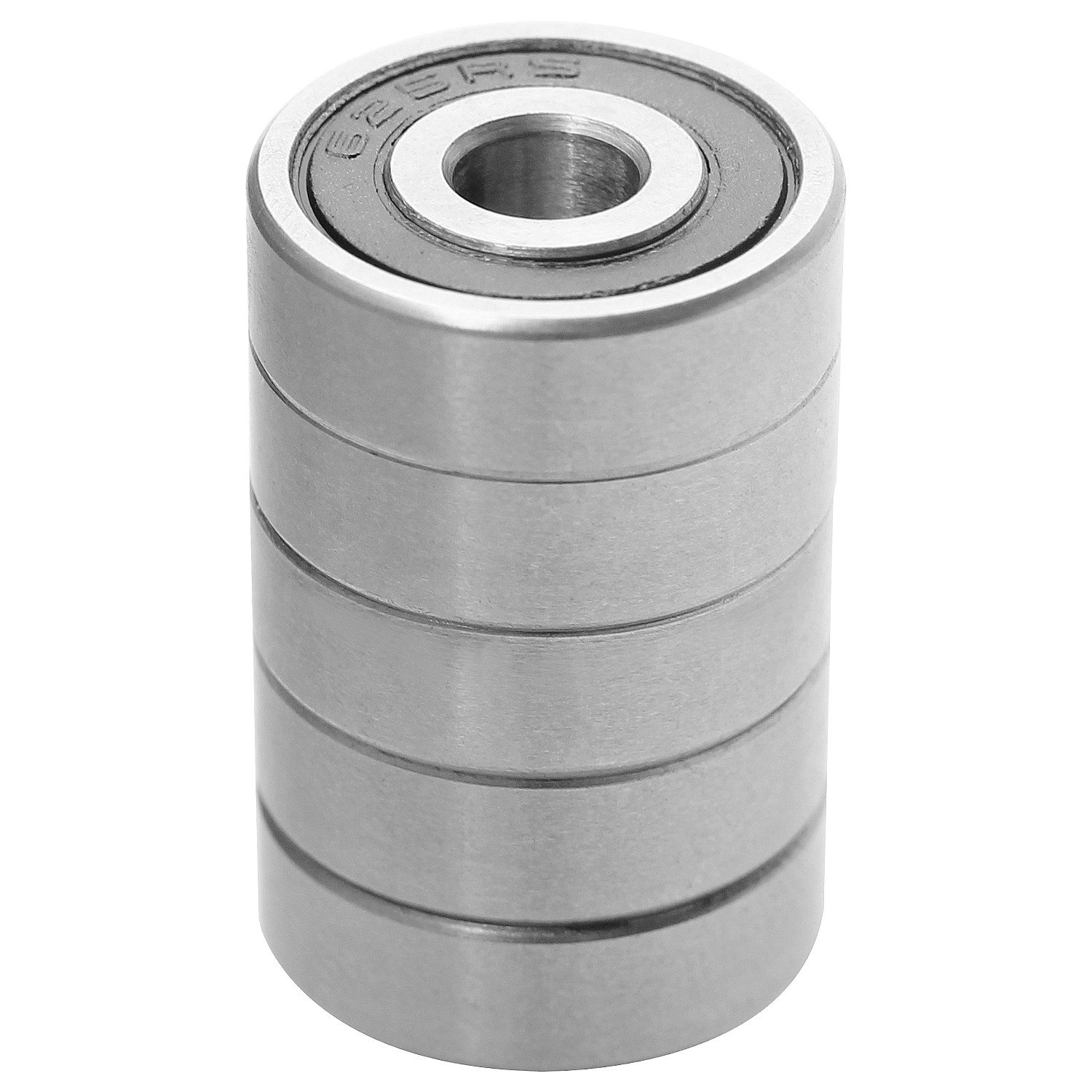 10 Pcs Abuff High Speed Mini Precision 625-2rs Bearings with Double Seal and Pre-Lubricated 625-2rs Ball Bearing