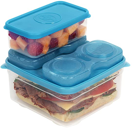 california innovations fresh connection 6 piece sandwich set container includes meal insert and 2 - Kcheninnovationen Inkl