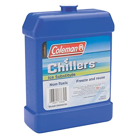 Coleman Chillers Ice Packs Substitute Reuseable Freeze & Reuse Cooler ICE 10 Sporting Goods