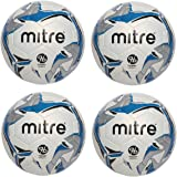 ccb1d209b239 Mitre Astro 4 Pack Hyper Seam Soccer Ball Official Game Size 5 Match Ball  for 3G
