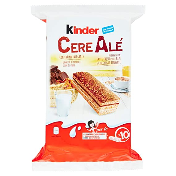 Kinder Ferrero cereale Chocolate – 4 piezas de 285 g [1140 ...