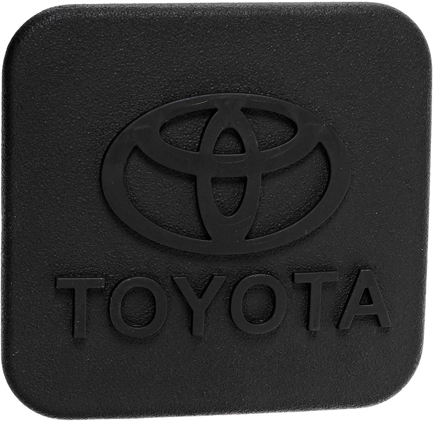 Fits for 2 inches Chevrolet Chevy Trailer Hitch Cover Sturdy Rubber Receiver Tube Hitch Plug Tow Receiver Tube Plug Cap Fits to Chevy 2 Tow Hitch Receiver