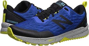 New Balance Men's Nitrel v3 Running Shoes (Blue/Bright Green)