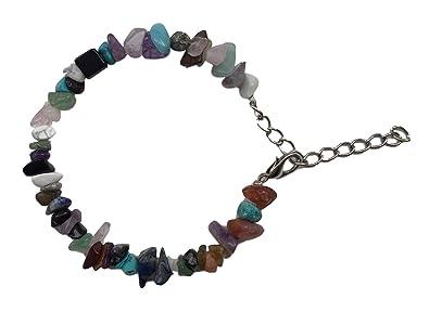 Nueva Semi Precious piedra Rock pulsera Yoga Meditación ...