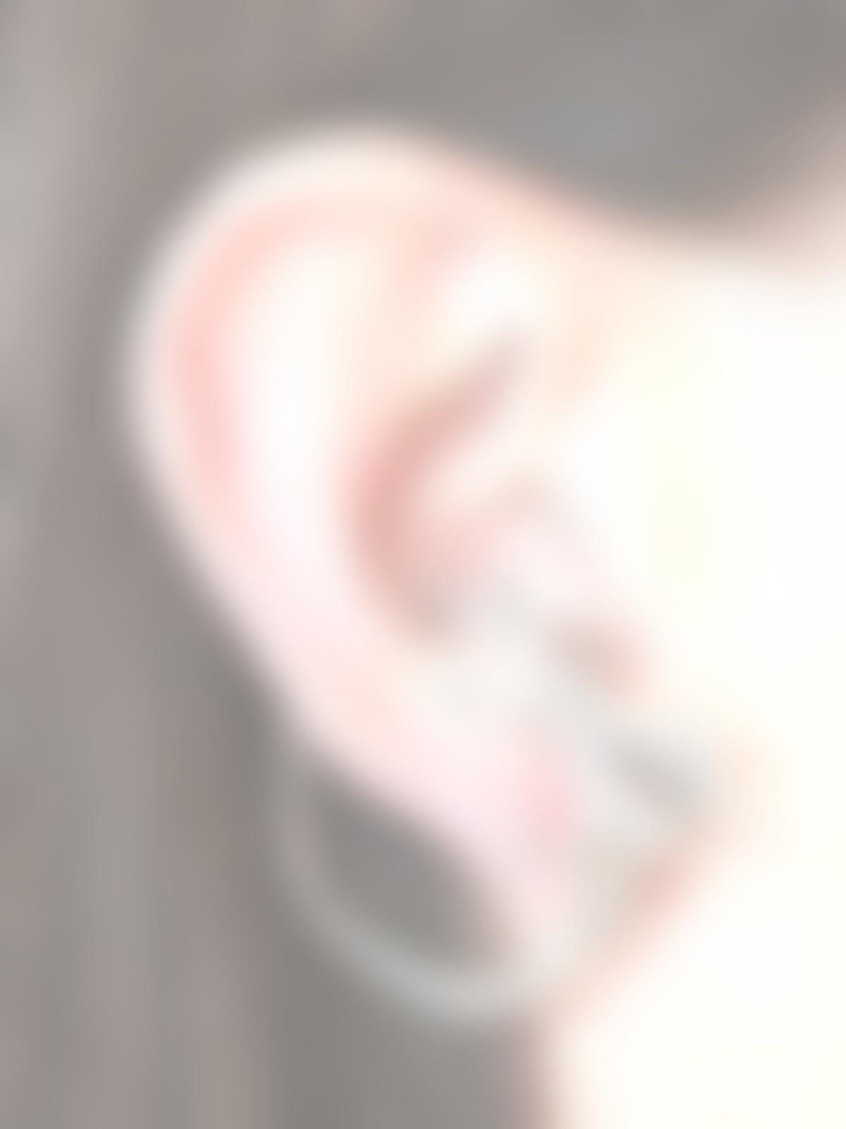 f62ad358c Amazon.com: Dragon Ear Cuff Silver Dragon Whisperer Hoop: Handmade