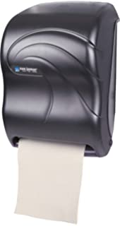 San Jamar T1390TBK Electronic Touchless Roll Towel Dispenser, 11 3/4 x 9 x