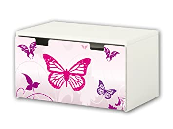 Stuva Aufkleber pink sticker suitable for children s storage bench stuva from