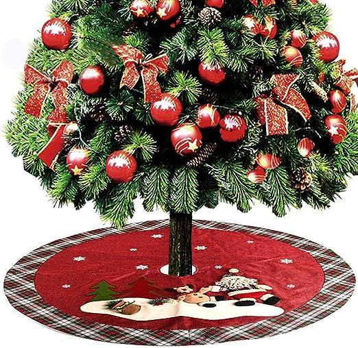 YEKEYI - Falda para árbol de Navidad, decoración para el hogar ...