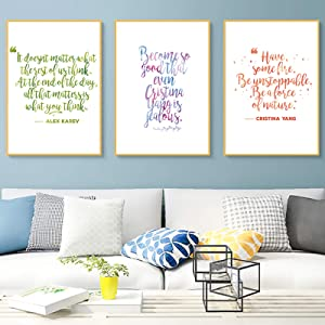 Grey'S Anatomy Inspirational Wall Art Dorm Wall Decor Artwork Grey'S Anatomy Decorative Canvas Wall Art Positive Typography Inspirational Canvas Painting Wall Decor For Living Room Home Decor Unframed