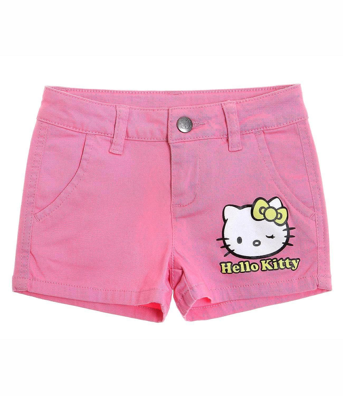 Hello Kitty Fille Short - fushia