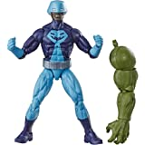 "Marvel Legends Series Rock Python 6"" Collectible Action Figure Toy for Ages 6 & Up with Build-A-Figurepiece"
