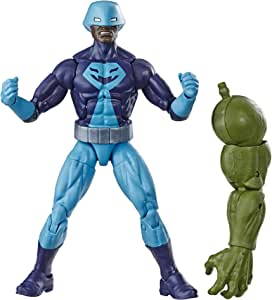 """Marvel Legends Series Rock Python 6"""" Collectible Action Figure Toy For Ages 6 & Up with Build-A-Figurepiece"""