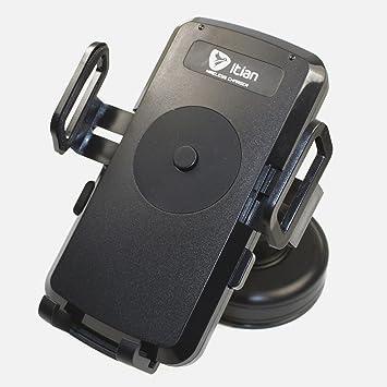 Soporte & Cargador Qi Wireless para coche para móvil Motorola Droid Turbo