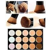 Amazon Price History for:UNKE 15 Color Professional Cosmetic Makeup Concealer Cream Highlight & Contour Bronzer Foundation Makeup Palette Contour Facial Palette +Powder Brush