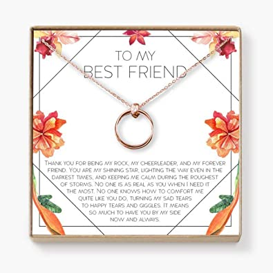 Amazon.com: xatify for Best Friend Necklace: BFF Necklace ...